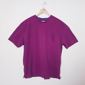 Tommy Bahama Relax Mens Size 2XL XXL Purple Pima Cotton Tee T Shirt