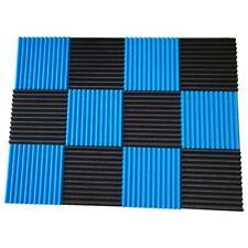 SODIAL 12 Pck Acoustic Panels Soundproofing Foam Acoustic Tiles Studio Foam Sound