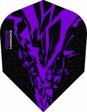 Harrows RAPIDE X Extra Strong Dart Flights - Purple