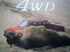 NISSAN Datsun 720 Pickup Truck Brochure 1984 JDM Lil' Hustler AD 日産 ダットサン トラック