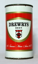 New ListingDrewrys Beer 12 oz. Flat Top Beer Can-Chicago, Il.