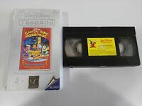 CANTA CON NOSOTROS FELIZ NAVIDAD VHS TAPE CINTA WALT DISNEY CASTELLANO