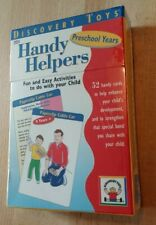 NEW & SEALED Discovery Toys Handy Helpers Preschool Years Activity Cards 2035