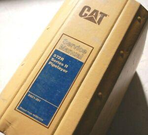 CAT CATERPILLAR 572R PIPELAYER Tractor Crawler SERVICE REPAIR Shop Owner MANUAL