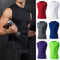 Mens Classic Fitness Sport Tank Top Bodybuilding Gym Sleeveless Muscle Tee Shirt