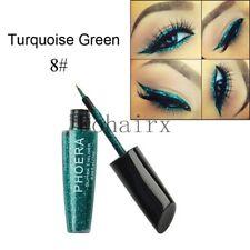 Waterproof Shimmer Eyeshadow Glitter Colorful Liquid Eyeliner Metallic Cosmetics A8
