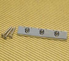 GB-LAP-C Chrome Lap Steel Universal Low Profile Flat Mount Guitar Gretsch Bridge