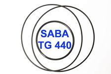 SET CINGHIE SABA TG 440 REGISTRATORE A BOBINE BOBINA EXTRA FORTI FRESCHE TG440