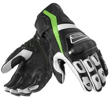GUANTI GLOVE REV'IT STELLAR NERO VERDE BLACK/GREEN RACING PROTEZIONI TG XL