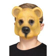 ours Masque enfants déguisement animal Masque visage Zoo Animal Accessoire