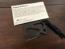 Peter Atwood WildCard Knife Tool  CPM S30V Steel  RARE