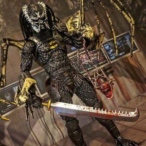 NECA ALIENS VS Predator YAUKTJA BATMAN custom marvel legends mcfarlane dc lot