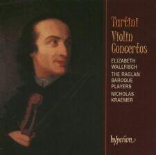 Tartini: Violin Concertos (Concerti per Violino)  / Wallfisch, Raglan Baroque CD
