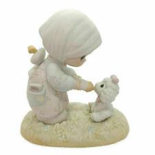 Precious Moments Enesco Pm-871 1987 Members Figurine Feed My Sheep 1986 No Box