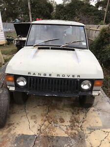 Range Rover Classic 2 Door Parting Out