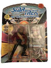 Vtg New 1993 Playmates Star Trek The Next Generation*Lieutenant (Jg) Worf Figure