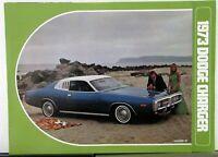 1973 Dodge Charger Rallye SE Color Sales Folder Specs Equip Exterior Colors Orig