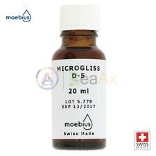 Moebius Microgliss D5 Soluzione 20 ml Olio Classico e Silicone per cuscinetti