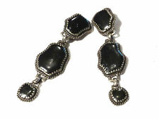 Bijou alliage argenté boucles d'oreilles pendantes clips Scooter earrings