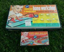 VINTAGE TOOLS TOY GAME RARE  KENNER'S MOTORIZED HOME WORKSHOP NO. 1010