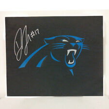 Devin Funchess Autographed Carolina Panthers Canvas Wall Art