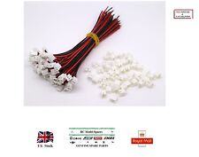20x Pairs Micro JST 2.0 PH 2-Pin Male&Female Connector Plugs 150mm Wires RC UK