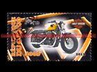 HARLEY DAVIDSON 1200 Forty Eight Wide République CONGO Timbre Moto Stamp Stempel