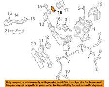 GM OEM Turbocharger Turbo-Cooler Pipe Gasket 98054444