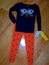 Girl/Boy - 2T - PJ's - Carters - 2 Pc. Orange & Black (Halloween?) - MSRP $20.00