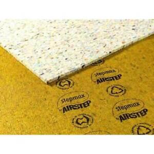 Carpet Underlay Airstep Bridgestone STEPMAX Thick Foam DIY Flooring 2X 1.8m x 2m