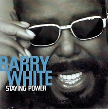 CD - BARRY WHITE - Staying Power