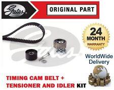 FOR FIAT MULTIPLA 1.9 JTD 2000-> TIMING CAM BELT + TENSIONER + IDLER BEARING KIT