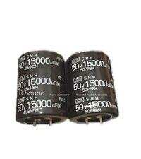 2pcs 15000uf50v  35*45mm  electrolytic capacitors