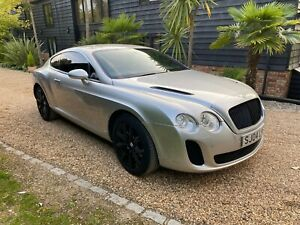 2004  BENTLEY CONTINENTAL GT COUPE WITH SUPER SPORT KIT  97K LOTS OF HISTORY