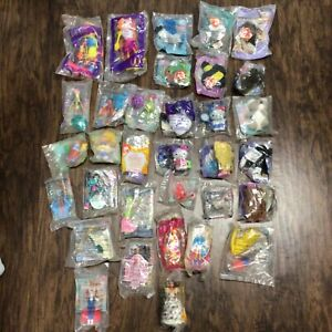 Girls McDonalds Happy Meal Toys Lot FACTORY SEALED No Repeats Barbie Sky Dancer