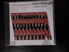 CD ALBUM - UNDER FREEDOMS FLAG - MILITARY MUSIC