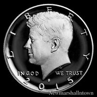 2015 S Kennedy Silver Proof Half Dollar ~ Coin from Original U.S. Mint Proof Set