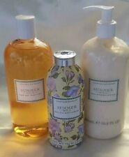 Crabtree & Evelyn Summer Hill Bath Set - Bath Gel, Body Lotion, Talc free powder