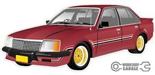 VC HDT BROCK Firethorn Red Holden Commodore with Simmons