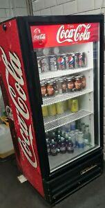 Coca Cola Drink Fridge / Man cave - Restaurant - Bar - Rare