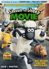 Shaun the Sheep Movie (DVD, 2015)( DVD + Digital HD]] No Slipcover NEW Sealed