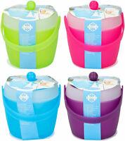 Eiseimer mit Deckel & Eis Zange 1,5L Eiswürfelbehälter Eiswürfeleimer Eiskübel