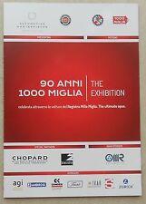 Museo Mille Miglia 2017 90 Anni dépliant folder no prospectus brochure depliant
