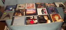 Lot of 15 CD Soundtrack Country Pop Music