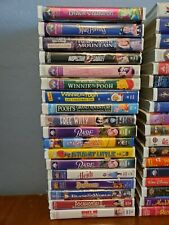 Vhs Video Movies Kids Disney & others - You Choose - Clamshell Cases