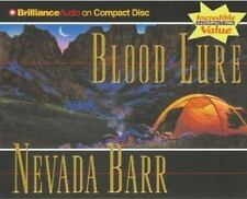 BLOOD LURE Audiobook By Nevada Barr ABRIDGED 5 CDs - Bk 9