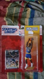 NBA 1994 STARTING LINEUP LATRELL SPREWELL GOLDEN STATE WARRIORS KENNER