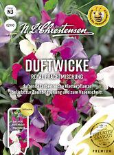 Duftwicke Royal Prachtmischung, duftende farbenreiche Kletterpflanze Samen,02990