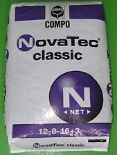 25 kg Compo NovaTec® Classic NPK Volldünger 12-8-16(+3+10) Blaukorn