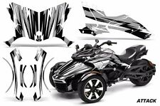 AMR Racing CanAm Spyder F3-S Roadster Graphic Kit Street Bike Decal Wrap ATTK S